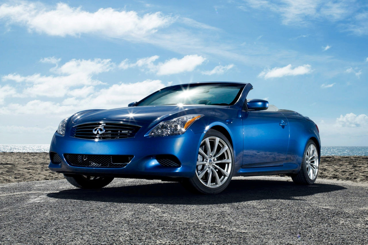 infiniti used cars g37 convertible front  free download image Wallpaper