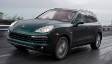 Used Porsche Cayenne Diesel Front View free image upload