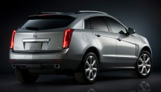 Cadillac SRX right rear  suv used Photo free image download