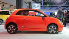 Fiat 500E Convertible used free download image