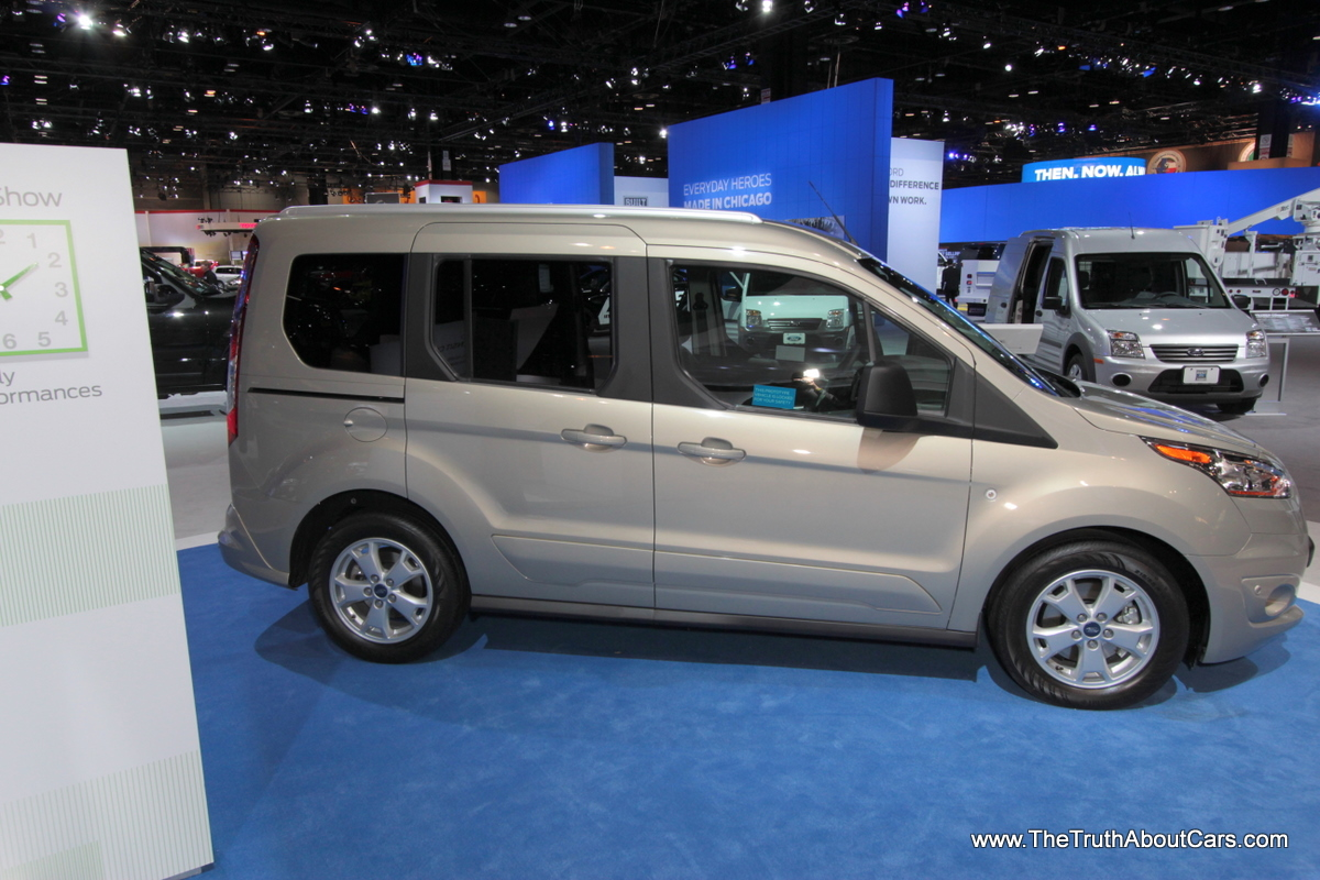 Ford Transit Connect Wagon on Chicago Auto Show Image free download