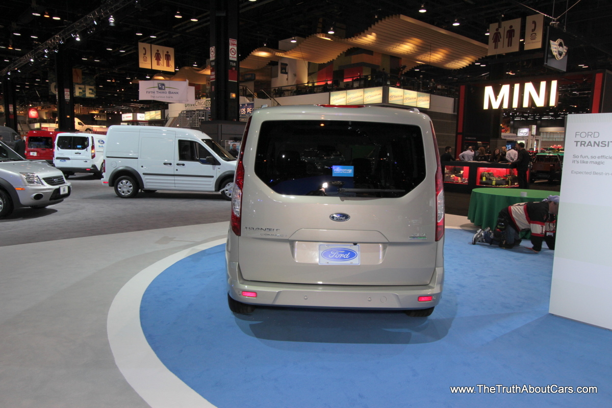 Ford Transit Connect Wagon on Chicago Auto Show image credit download image
