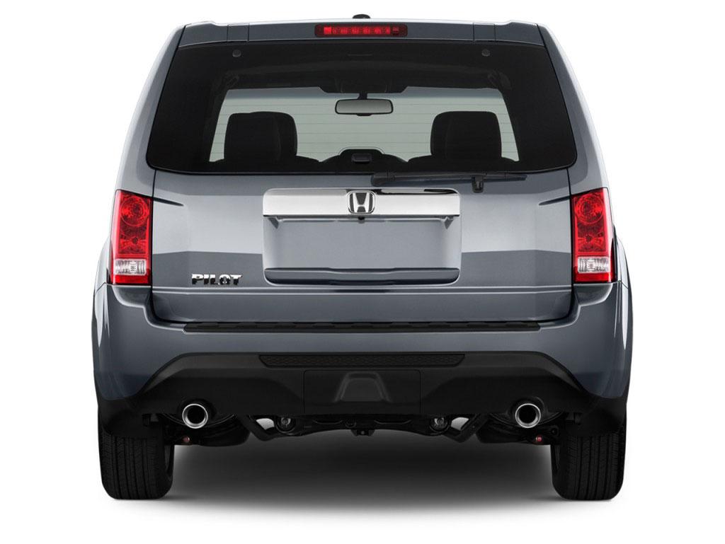 Honda Pilot rear view free download image