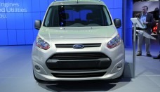 Ford Transit Connect Front View Photo free image download