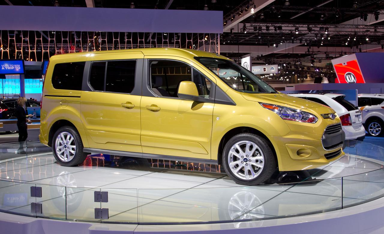 Ford Transit Connect Titanium EcoBoost wagon free download image