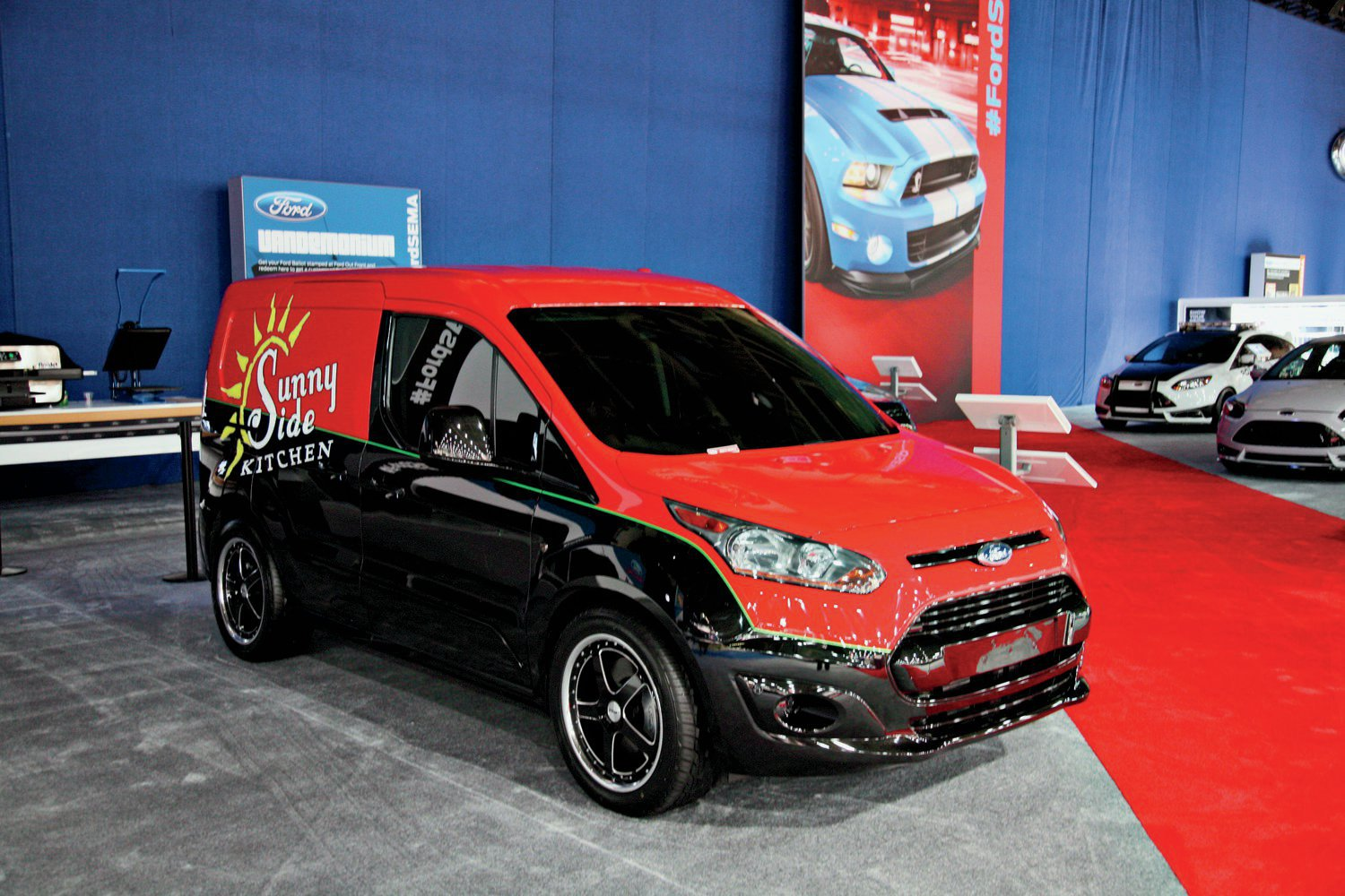 Ford Transit Connect Van wagon 2014 free download image