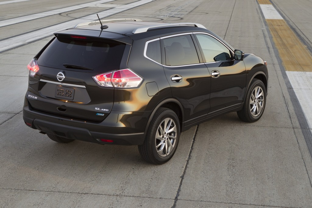 Nissan Rogue Crossover Full Details From Frankfurt Auto Show free image editor