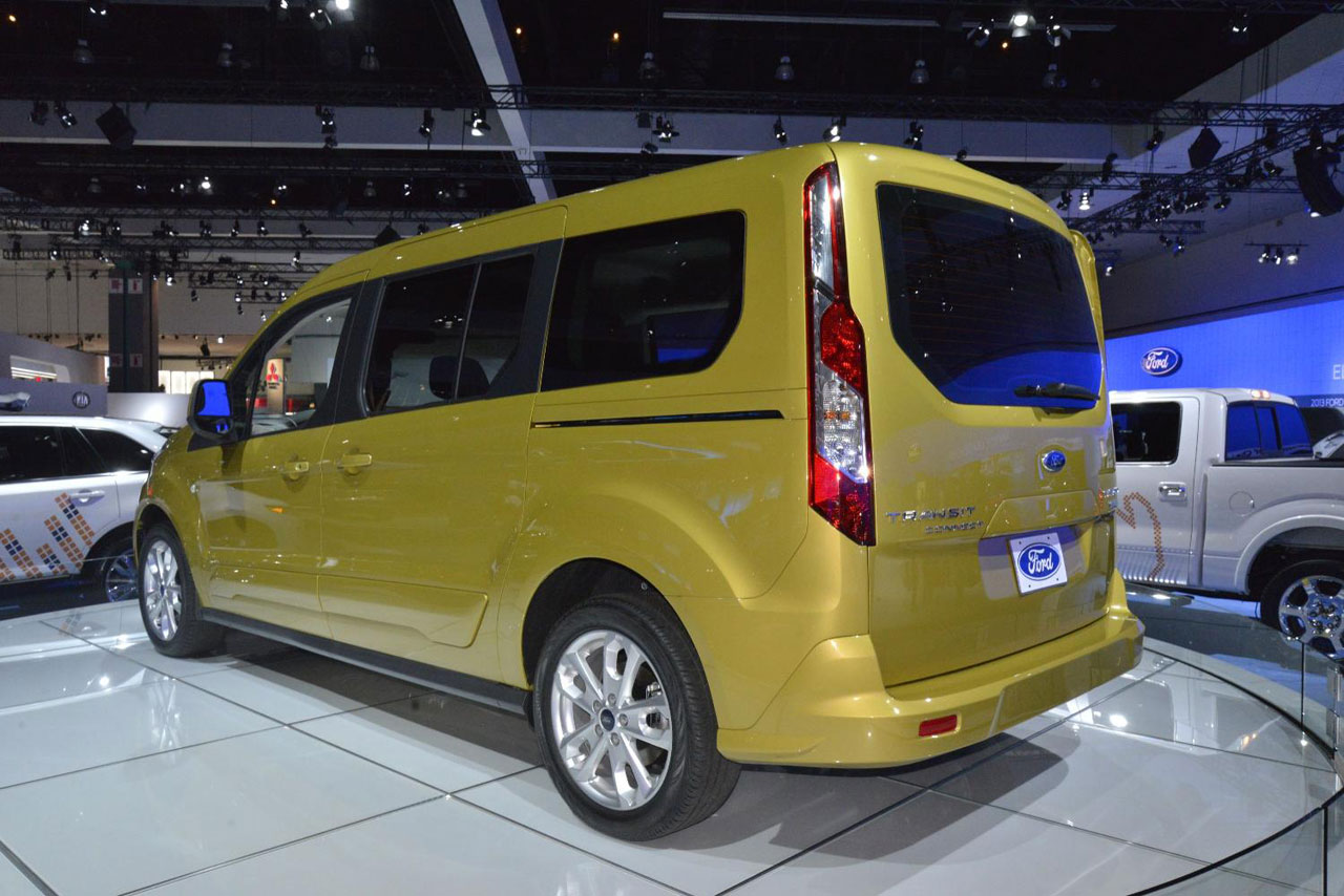 Ford Transit Connect Wagon rear Photo image resizer free download Wallpaper