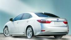 Lexus ES 350 Rear free online image editor