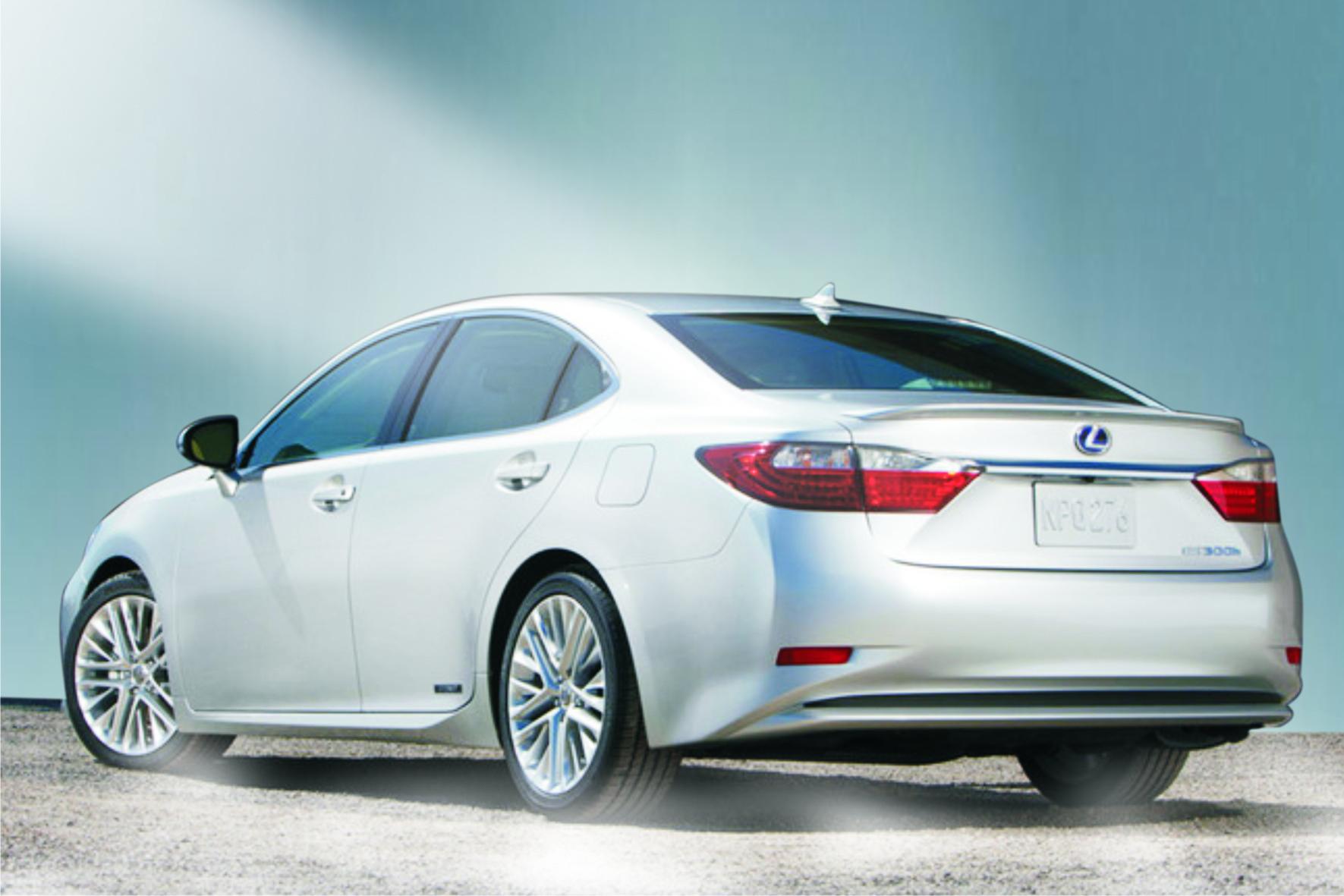 Lexus ES 350 Rear free online image editor Wallpaper