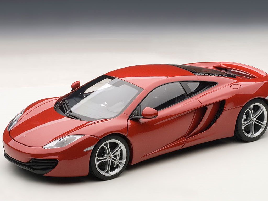 McLaren MP4-12C in Red AUTOart car models list free image editor
