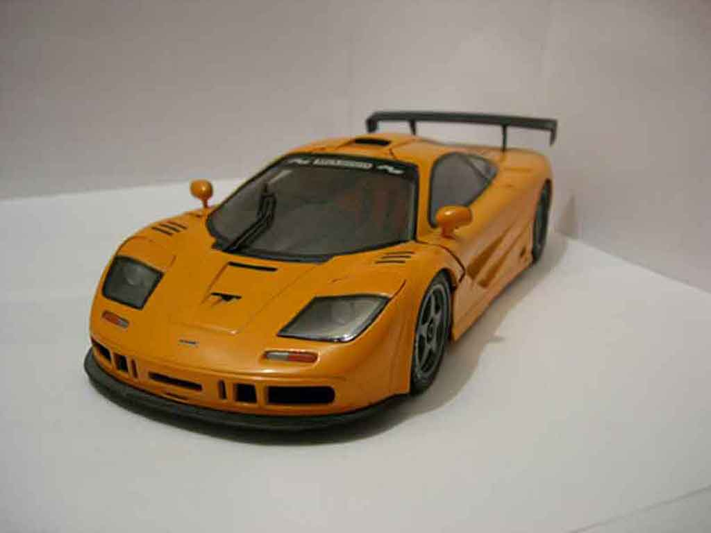 McLaren F1 gtr orange Ut Models car models list free image editor