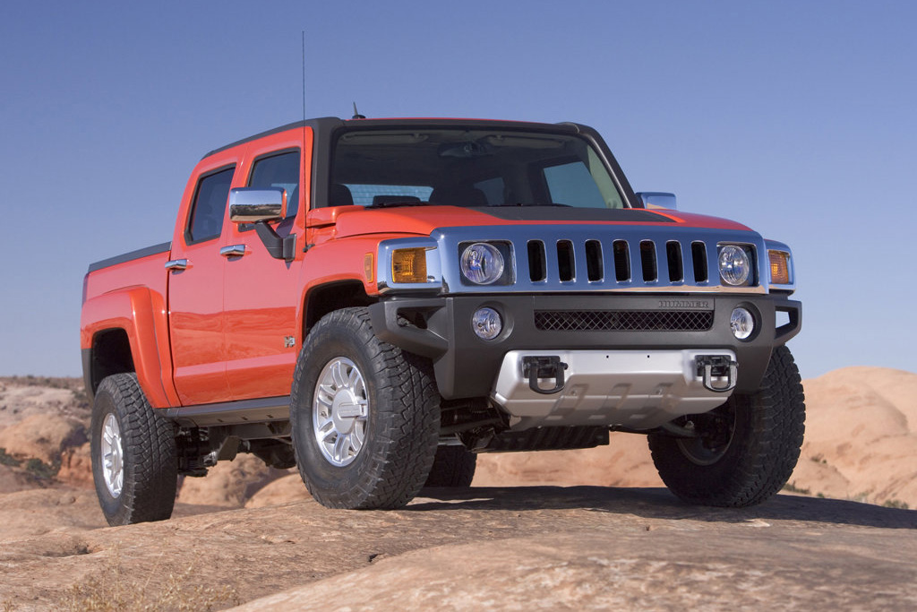 Used Hummer H3T Amazing Vehicles free download image Wallpaper