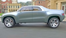 Mitsubishi Sport Truck concept free online image editor