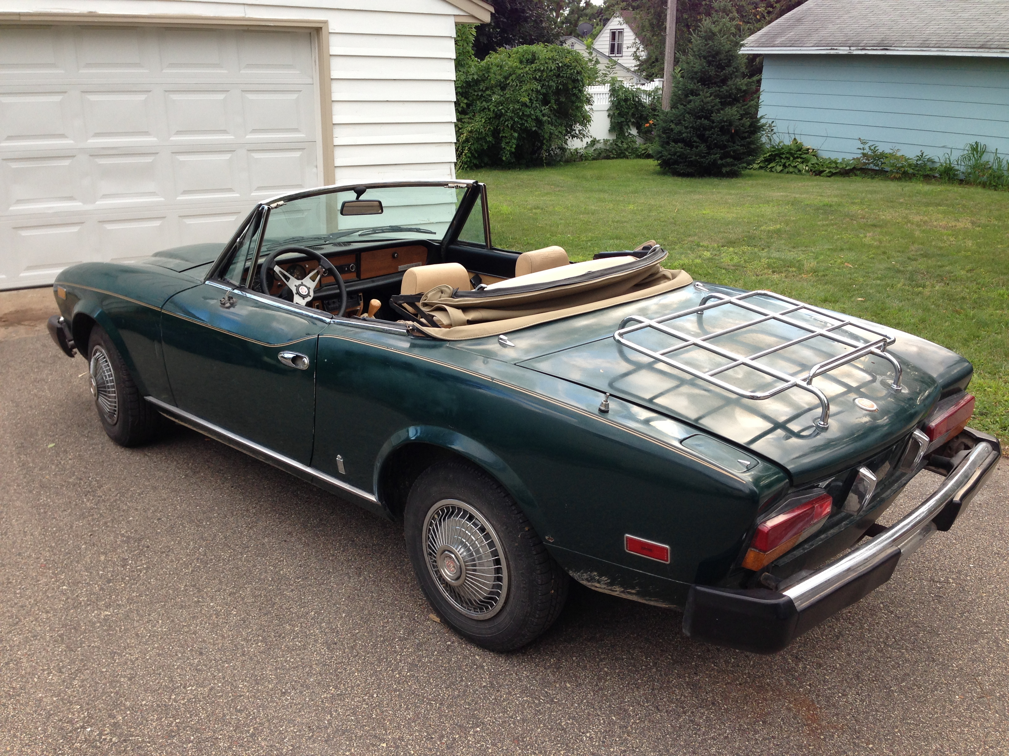 Fiat Convertible Classic price used for sale free image download