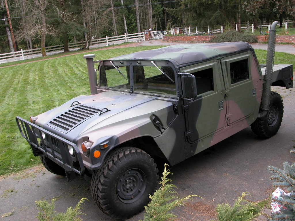 1985 Military Camo Hummer Amazing Vehicles free download image Wallpaper