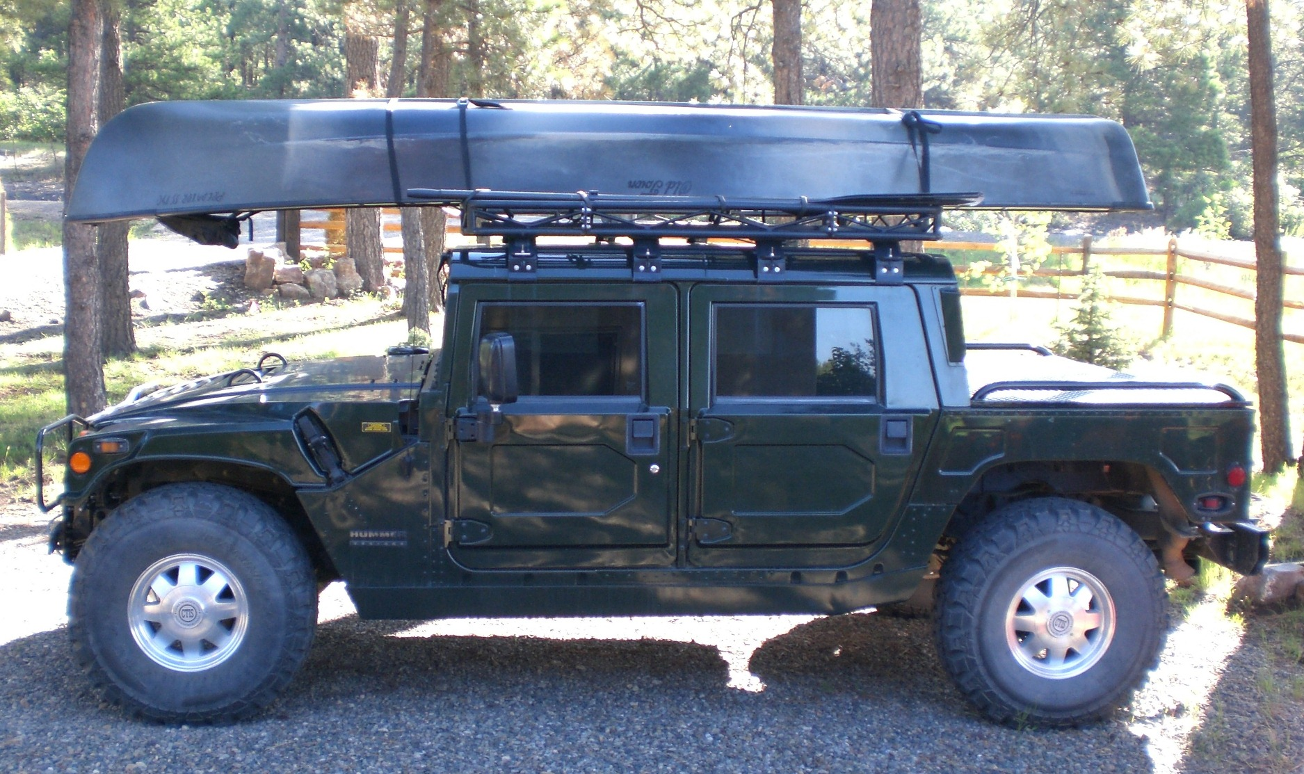 Used Hummer H3T Amazing Vehicles free download image Rocker Panel and Driveline Protection. Luggage Rack Wallpaper