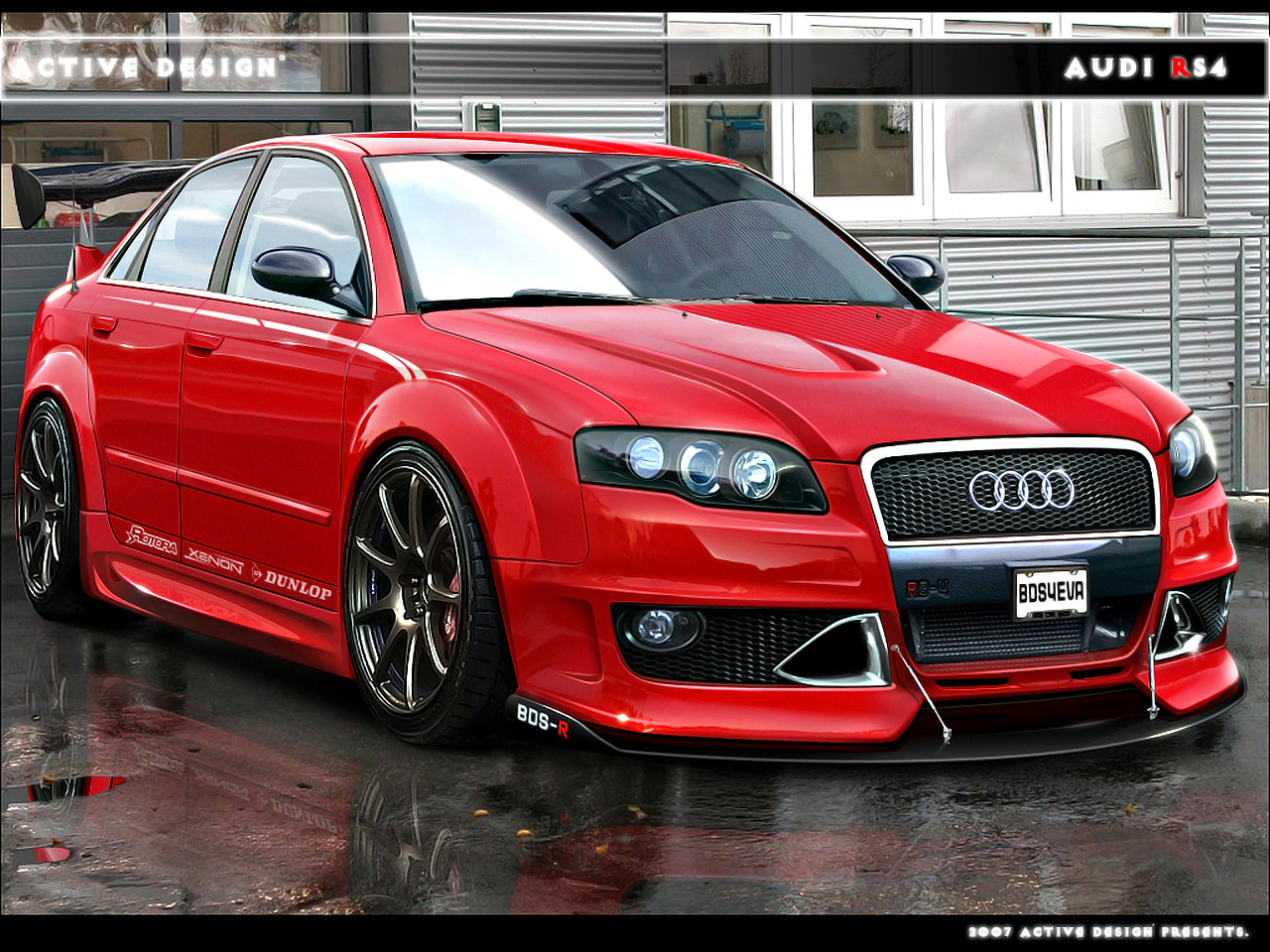 Audi RS 4 photos: